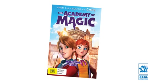 K-ZONE FEB'21 THE ACADEMY OF MAGIC DVD GIVEAWAY