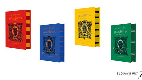 K-ZONE MAR'21 ONE HOUSE EDITION OF THE FIRST SIX HARRY POTTER BOOKS GIVEAWAY