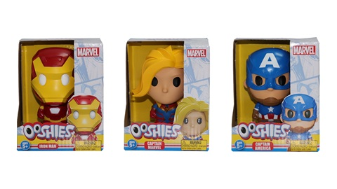 K-ZONE MAR'21 A MARVEL OOSHIES VINYL EDITION PACK GIVEAWAY