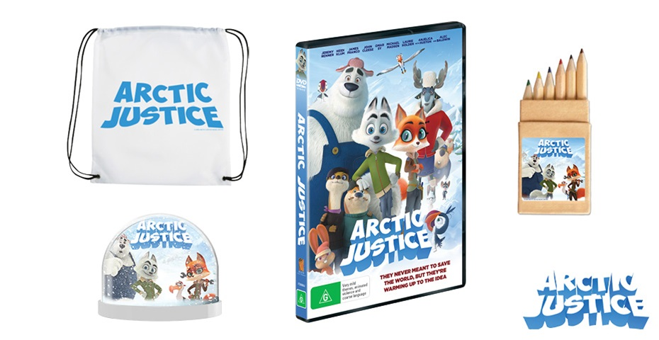 K-ZONE APR'20 ARCTIC JUSTICE DVD AND MERCH PACK GIVEAWAY