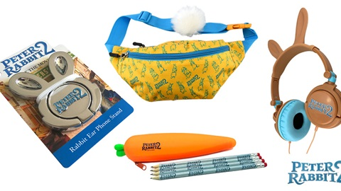 K-ZONE APR'20 PETER RABBIT 2 MOVIE MERCH PACK GIVEAWAY