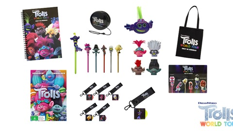 K-ZONE APR'20 TROLLS WORLD TOUR MOVIE MERCH PACK GIVEAWAY