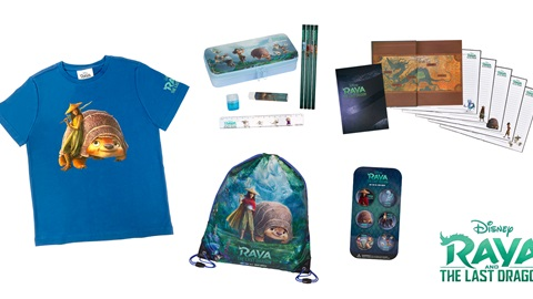 K-ZONE APR'21 A RAYA AND THE LAST DRAGON MOVIE MERCH PRIZE PACK GIVEAWAY
