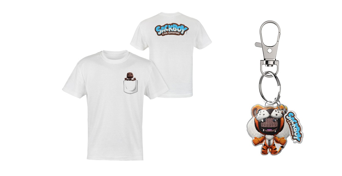 K-ZONE APR'21 A SACKBOY: A BIG ADVENTURE T-SHIRT AND KEYRING GIVEAWAY