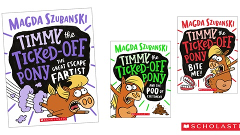 K-ZONE APR'21 A TIMMY THE TICKED-OFF PONY BOOK PACK GIVEAWAY