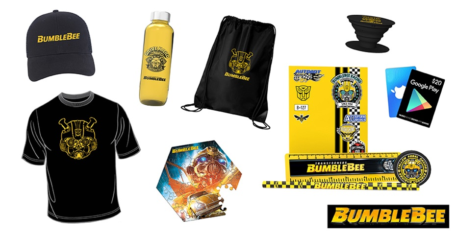 K-ZONE MAY'19 BUMBLEBEE MOVIE MERCH GIVEAWAY