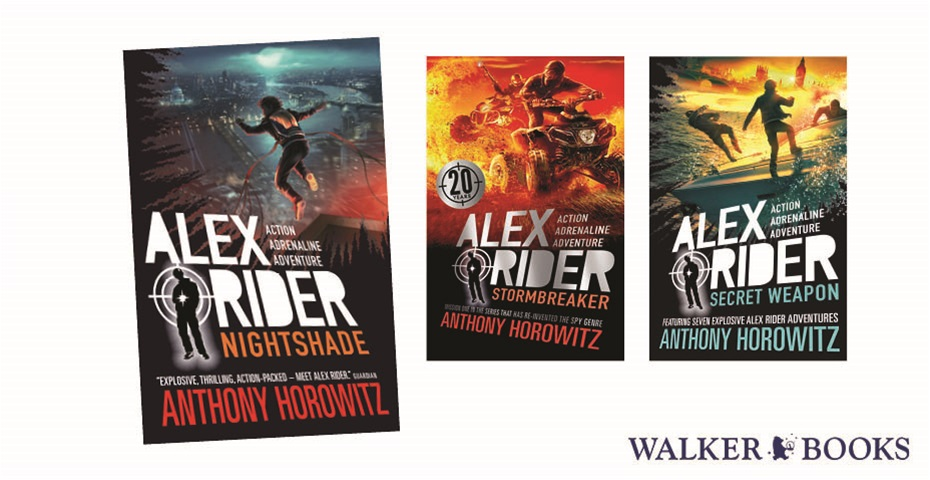K-ZONE MAY'20 ALEX RIDER BOOK PACK