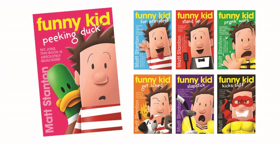 K-ZONE MAY'20 FUNNY KID BOOK PACK GIVEAWAY