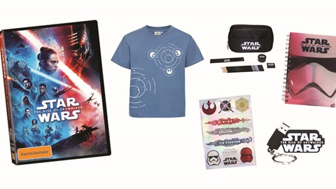 K-ZONE MAY'20 STAR WARS: THE RISE OF SKYWALKER DVD AND MERCH PACK GIVEAWAY