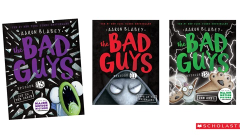 K-ZONE MAY'21 A BAD GUYS BOOK PACK GIVEAWAY