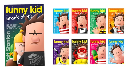K-ZONE MAY'21 A FUNNY KID BOOK PACK GIVEAWAY