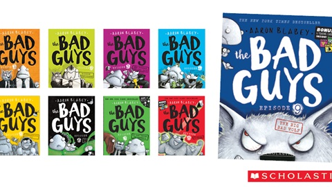 K-ZONE JUN'19 THE BAD GUYS BOOK PACK
