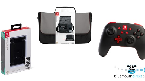 K-ZONE JUN'19 NINTENDO SWITCH ACCESSORIES PRIZE PACK GIVEAWAY