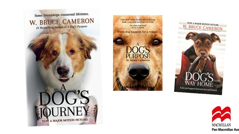 K-ZONE JUN'19 A DOG'S JOURNEY BOOK PACK GIVEAWAY
