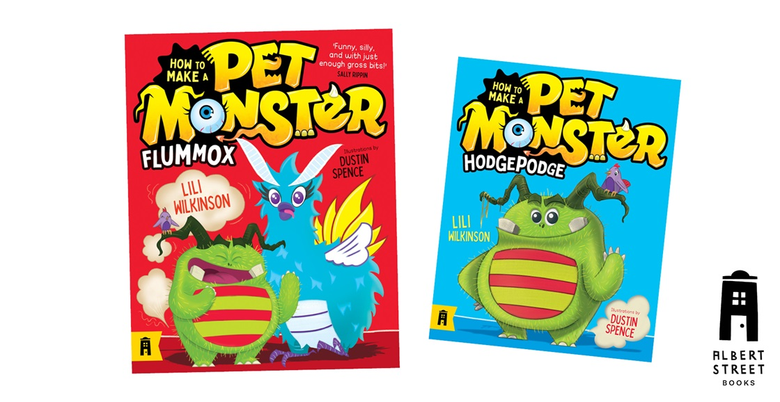 K-ZONE JUN'21 A HOW TO MAKE A PET MONSTER BOOK PACK GIVEAWAY