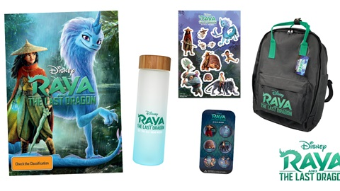 K-ZONE JUN'21 A RAYA AND THE LAST DRAGON DVD PRIZE PACK GIVEAWAY