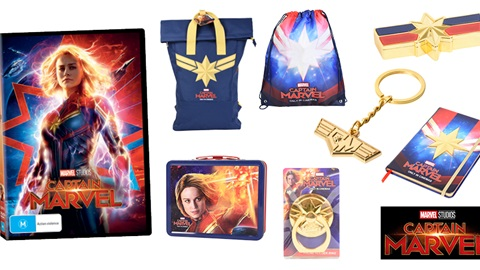 K-ZONE AUG'19 CAPTAIN MARVEL DVD MERCH PACK GIVEAWAY