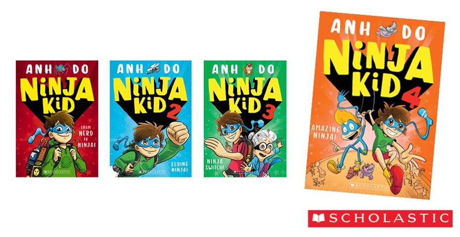 K-ZONE AUG'19 NINJA KID BOOK PACK GIVEAWAY