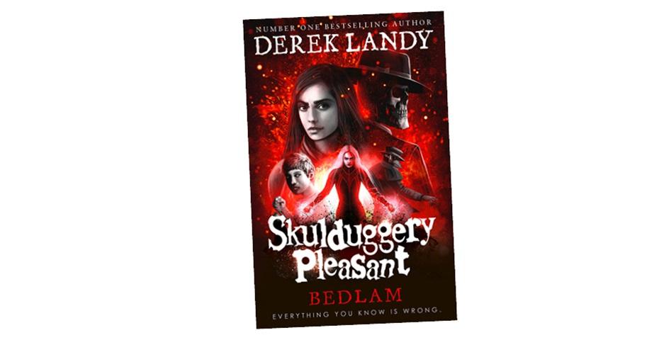 Skulduggery Pleasant: Bedlam Book Giveaway – K-Zone