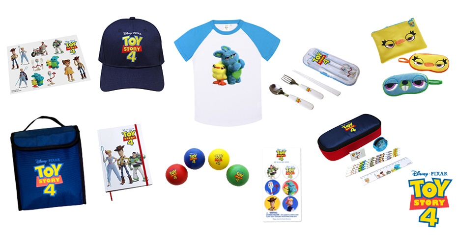 K-ZONE JUL'19 TOY STORY 4 MOVIE MERCH PACK GIVEAWAY