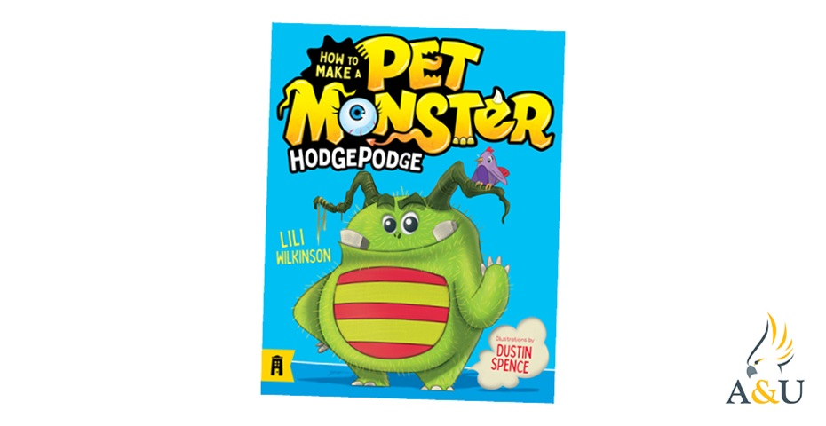 K-ZONE JUL'20 HOW TO MAKE A PET MONSTER: HODGEPODGE BOOK GIVEAWAY