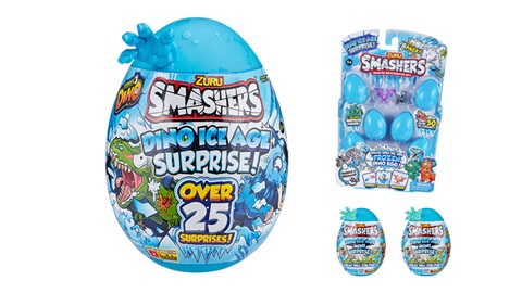 K-ZONE JUL'20 SMASHERS DINO ICE AGE PACK GIVEAWAY