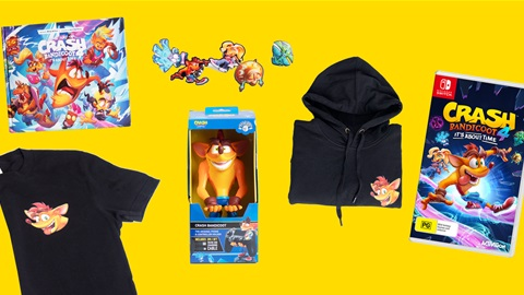 K-ZONE JUL'21 A CRASH BANDICOOT 4: IT'S ABOUT TIME EXCLUSIVE MERCH PACK GIVEAWAY