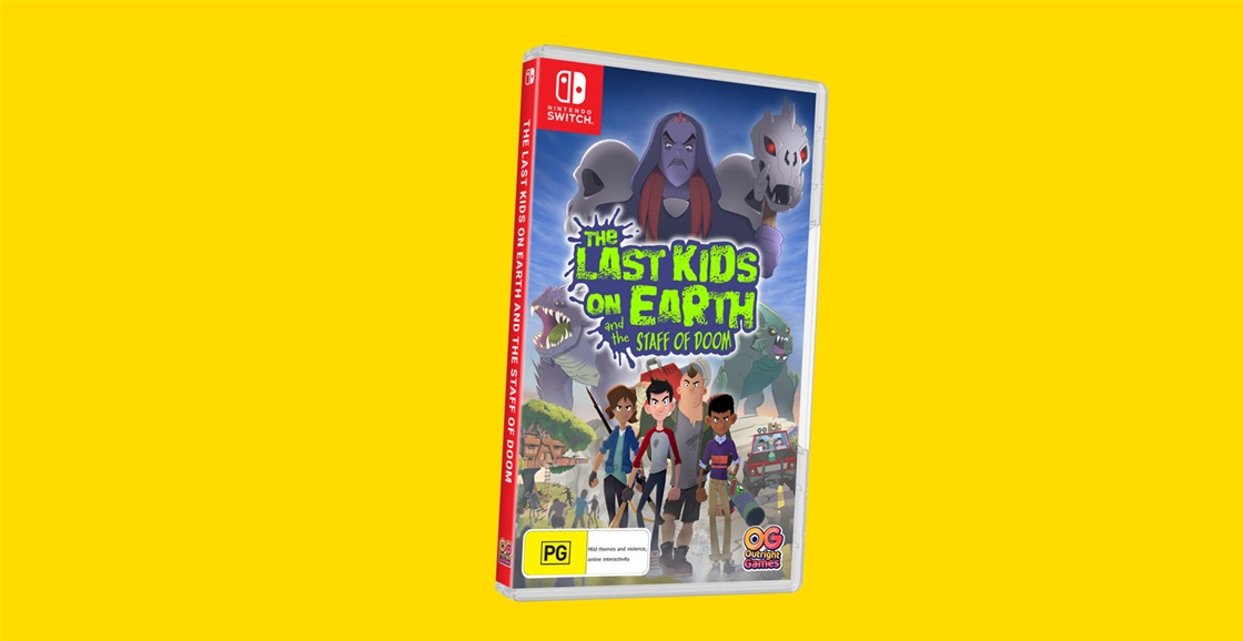 K-ZONE JUL'21 THE LAST KIDS ON EARTH AND THE STAFF OF DOOM FOR SWITCH GIVEAWAY