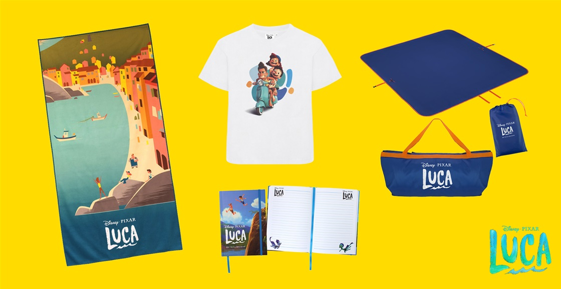 K-ZONE JUL'21 A LUCA MOVIE MERCH PRIZE PACK GIVEAWAY
