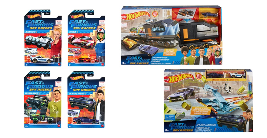 K-ZONE AUG'20 HOT WHEELS FAST AND THE FURIOUS SPY RACER PACK GIVEAWAY