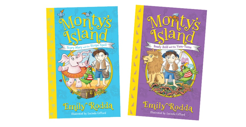 K-ZONE AUG'20 MONTY'S ISLAND BOOK PACK GIVEAWAY