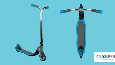 K-ZONE AUG'21 A GLOBBER FLOW 125 SCOOTER IN SKY BLUE GIVEAWAY