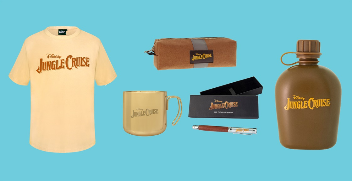 K-ZONE AUG'21 A JUNGLE CRUISE MOVIE MERCH PACK GIVEAWAY