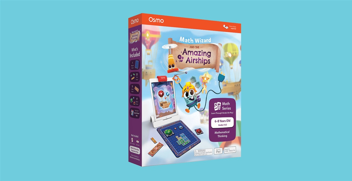 K-ZONE AUG'21 OSMO MATH WIZARD AND THE AMAZING AIRSHIPS GIVEAWAY