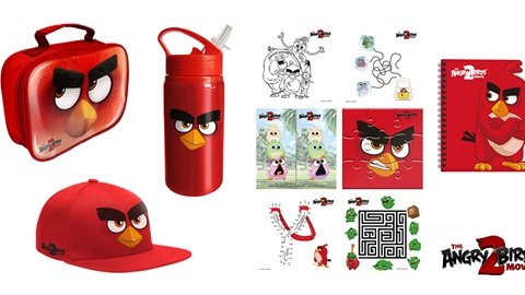 K-ZONE SEP'19 ANGRY BIRD 2 MOVIE MERCH PACK GIVEAWAY