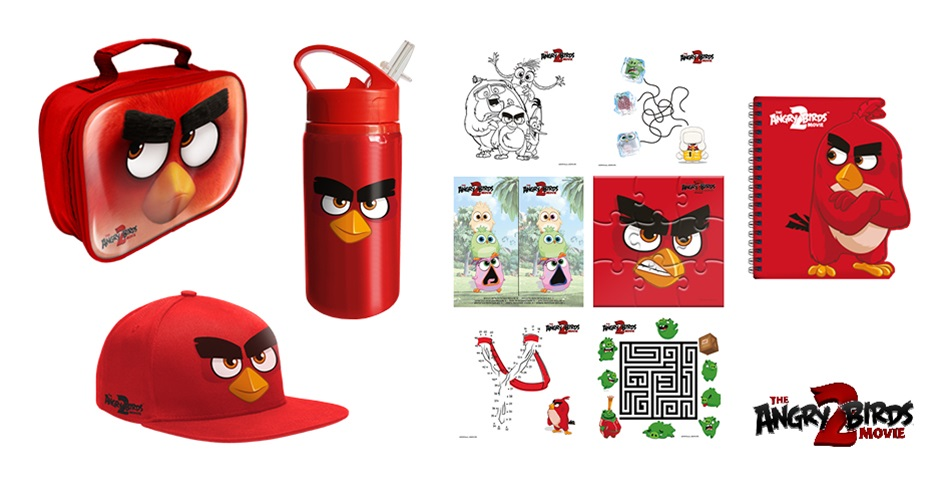K-ZONE SEP'19 THE ANGRY BIRDS MOVIE 2 MERCH PACK GIVEAWAY