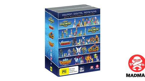 K-ZONE SEP'19 DIGIMON 20th ANNIVERSARY DVD COLLECTION
