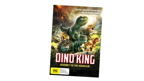 K-ZONE SEP'19 DINO KING: JOURNEY TO FIRE MOUNTAIN DVD PACK GIVEAWAY