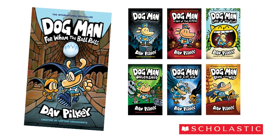 K-ZONE SEP'19 DOG MAN BOOK PACK GIVEAWAY