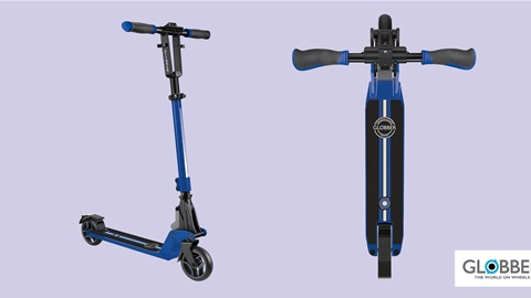 K-ZONE SEP'21 A GLOBBER ONE K 125 BLUE SCOOTER GIVEAWAY