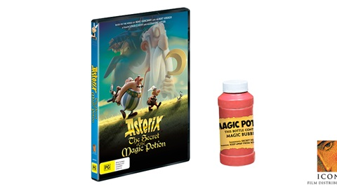 K-ZONE OCT'19 ASTERIX: THE SECRET OF THE MAGIC POTION DVD MERCH PACK GIVEAWAY