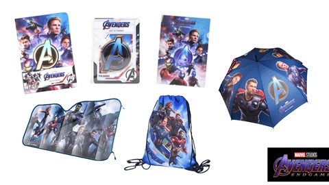 K-ZONE OCT'19 AVENGERS: ENDGAME MERCH PACK GIVEAWAY