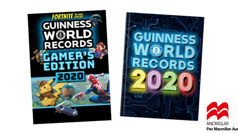 K-ZONE OCT'19 GUINNESS WORLD RECORDS BOOK PACK GIVEAWAY