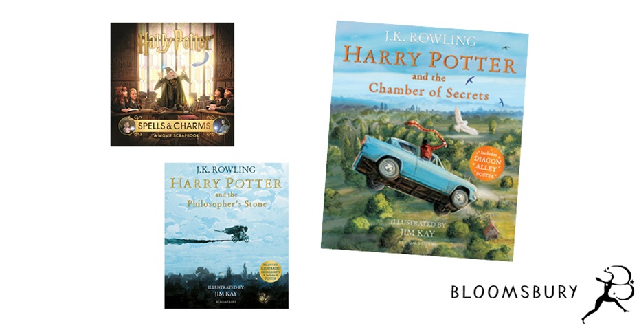 K-ZONE OCT'19 HARRY POTTER ILLUSTRATED BOOK PACK GIVEAWAY