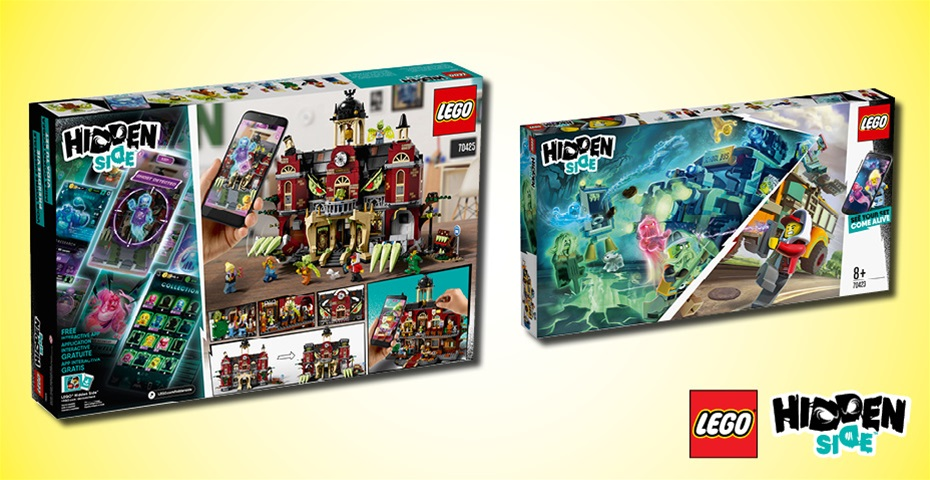 K-ZONE OCT'19 LEGO HIDDEN SIDE PRIZE PACK GIVEAWAY