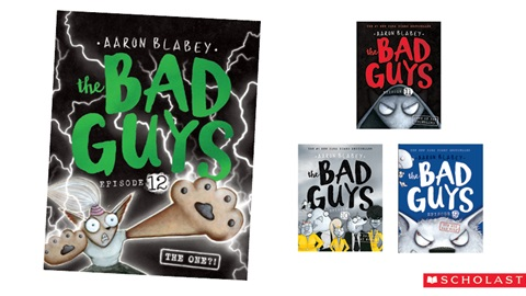 K-ZONE OCT'20 THE BAD GUYS BOOK PACK GIVEAWAY