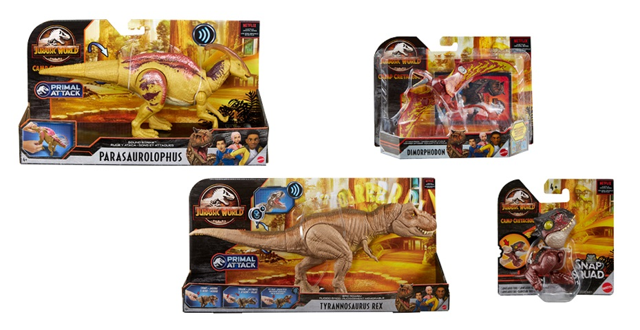 K-ZONE OCT'20 A JURASSIC WORLD: CAMP CRETACEOUS PRIZE PACK GIVEAWAY