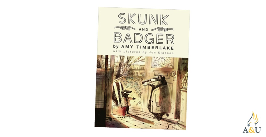 K-ZONE OCT'20 SKUNK AND BADGER BOOK GIVEAWAY
