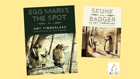 K-ZONE OCT'21 A SKUNK AND BADGER BOOK PACK GIVEAWAY