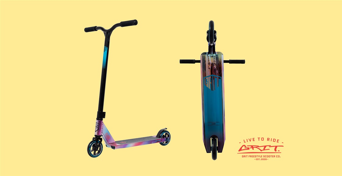 K-ZONE OCT'21 A GRIT FLUXX SCOOTER GIVEAWAY